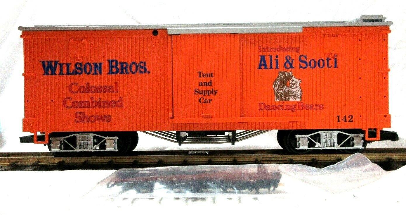 LGB 4067-DG Wilson Bros. tienda y suministro de coche de caja