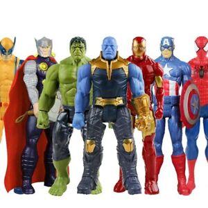 Marvel Avengers Super Hero Action Figure Toys Captain Spider-Man Thor Gift