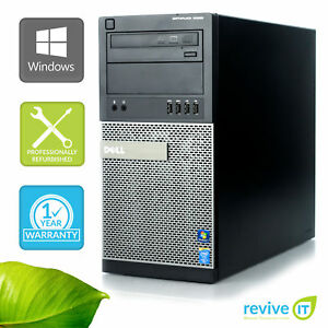 Custom-Build-DELL-Optiplex-9020-MT-i7-4770-3-40GHz-Ordinateur-de-bureau-PC