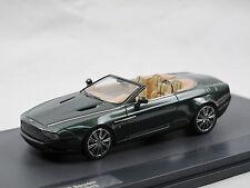 Matrix Scale Models - 2013 Aston Martin db9 Spyder Zagato Centennial Green 1/43