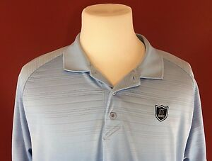 Ahead-Green-Delaware-National-CC-Light-Blue-Golf-Polo-Shirt-Mens-Large