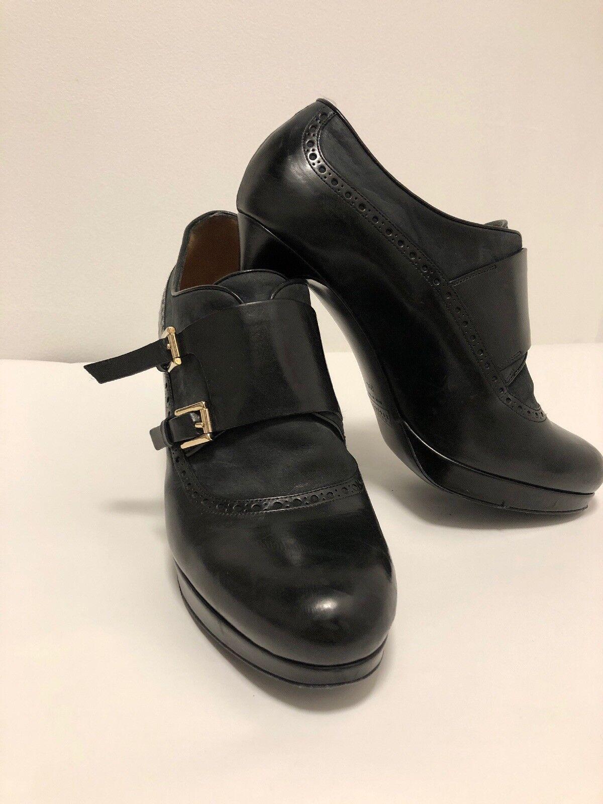 FRATELLI ROSSETTI Oxford braun Leather Heels 8.5 M M M  594a5e