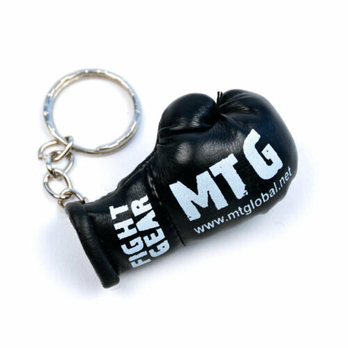 MTG Pro Black Muay Thai Boxing Glove Keyring