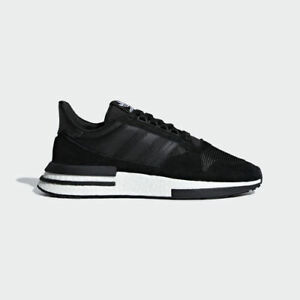 cheap for discount fcd7b 425d2 Image is loading Adidas-Originals-ZX-500-Rm-Boost-Men-Black-
