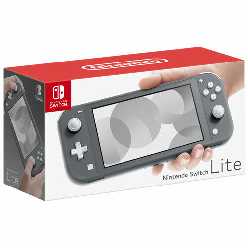 Nintendo Switch Lite - Gray Grey Brand New in Box Free Shipping