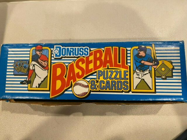 1987 Donruss Baseball Factory Set Sealed Cards And Puzzle