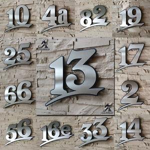 Hausnummer Edelstahl,17cm 21cm 31cm,Anthrazit wie RAL7016,schwar<wbr/>z oder weiss