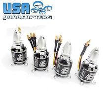 Set of 4 NTM Prop Drive 28-30S 800kV HV Brushless Motor Set 3s-6s + Prop Adapter