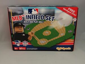 New MLB Infield Set OYO Sports 97 PCS American National League Build & Play Ball