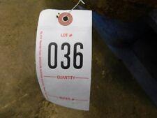 1 John Deere Older Style Wheel Weight Tag 036