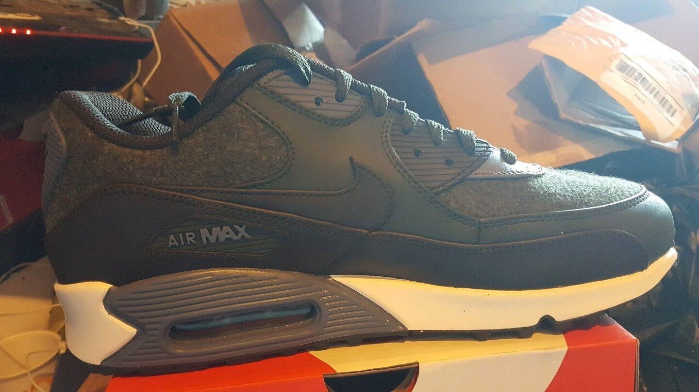 Nike air max 90 premium bnib brown brown white size 10 700155 300
