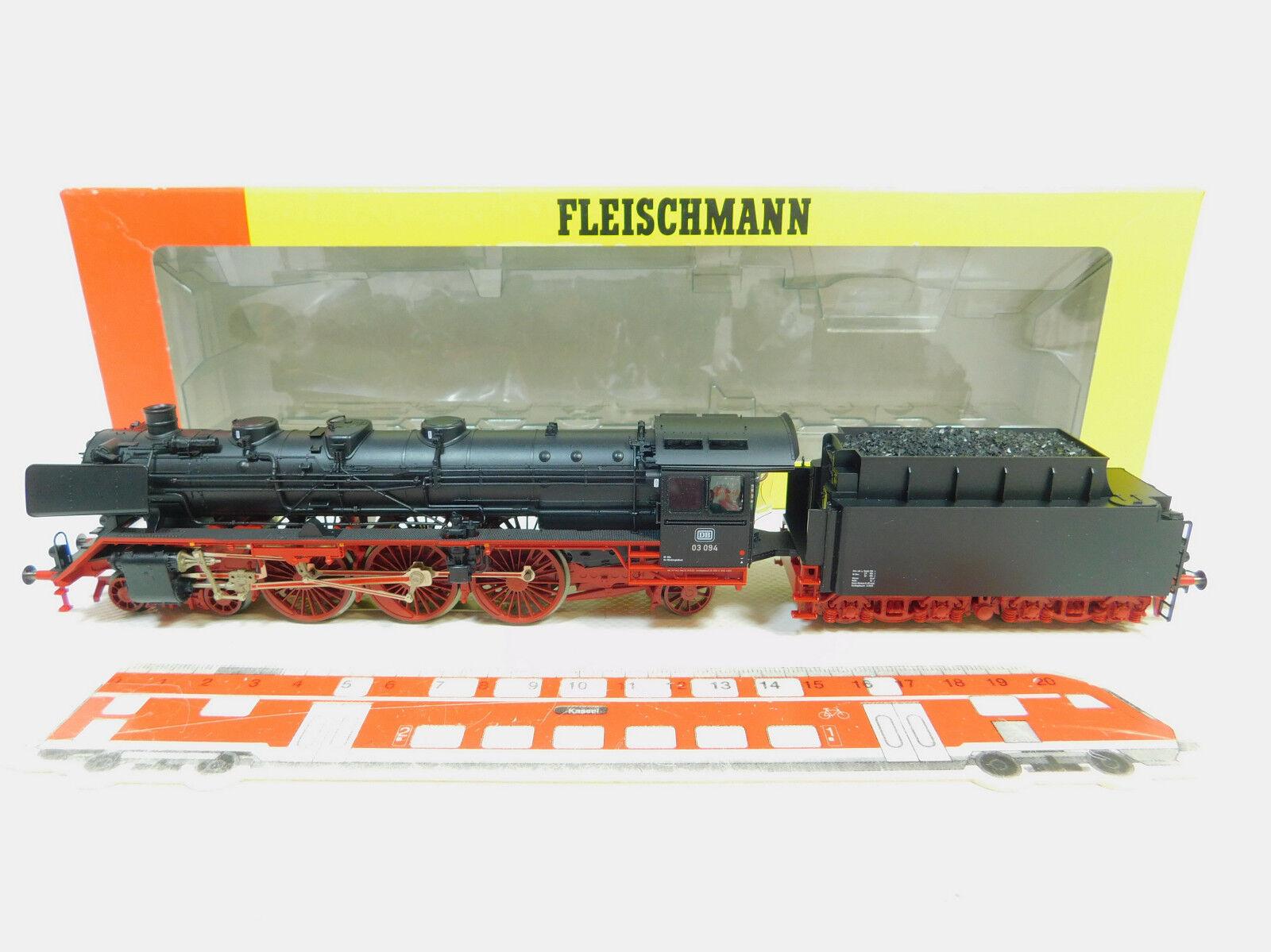 Bo186-2  Fleischmann h0/ac 1103 K locomotiva 03 094 DB NEM SOUND ESU-digitale, OVP