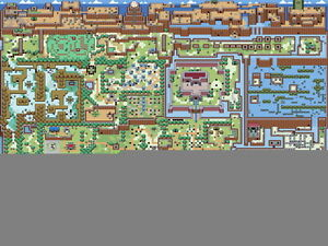 The legend of zelda overworld map wall print poster ebay image is loading the legend of zelda overworld map wall print gumiabroncs Images