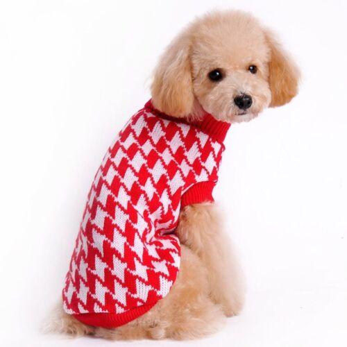 Dog Cat Clothes Pet clothes Cute Cat Dog Winter Clothes Pet Sweater
