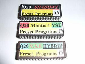 Details about Alesis Q20 EPROMS V S E  & MANTIS + V S E + V S E Hybrid  PRESETS Copyright