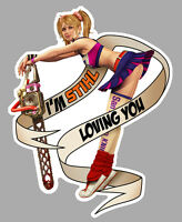 Stihl Left Pin Up Gauche Sticker
