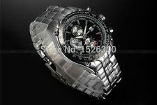 CURREN 8083 Casual Watch Date Analog Dial Atomic Steel Steel Men Quartz UK