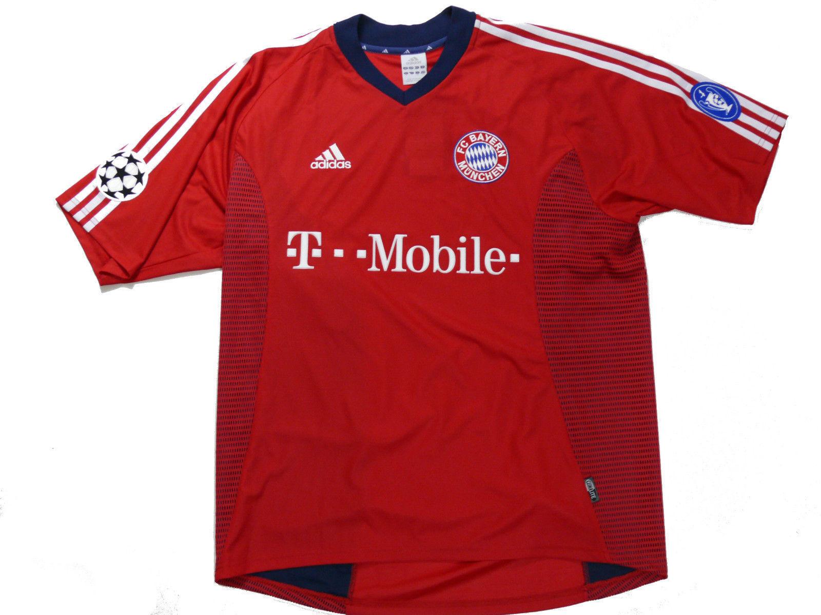 b59634bb6b8 FC Bayern MUNCHEN Munich adidas Germany T-mobile Soccer Jersey Football 2xl  for sale online