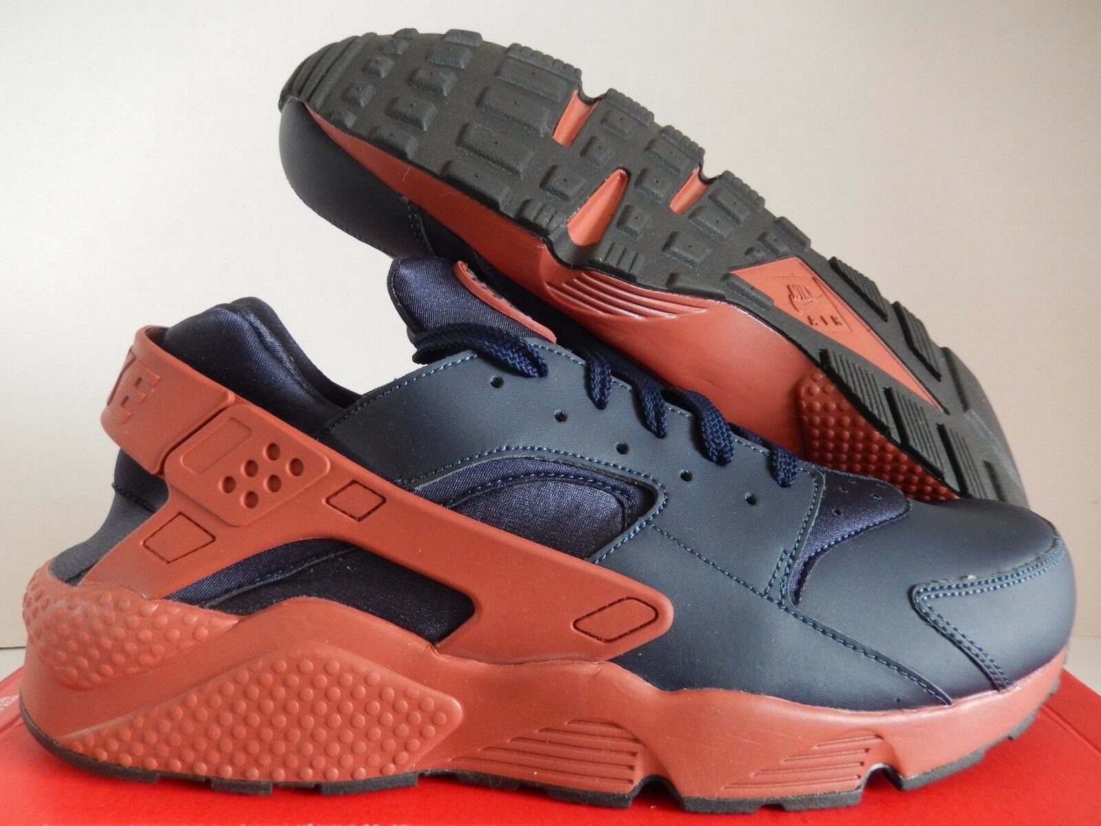 5152e4013b05 Men s Nike Air Huarache Obsidian mars Stone Sz 15 318429-417