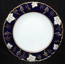"Royal Crown Derby - Vine Cobalt / A810 - 8 1/2"" Soup Bowl - XXXVIII/1975 - 2nd"