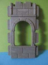 PLaymobil*Mauer Wand Teil mit Fenster  Fachwerkhaus *Ritterburg 3666* 3450*3667