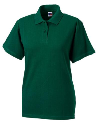 Damen Polo Shirt von Russell Ladies Classic Cotton Polo