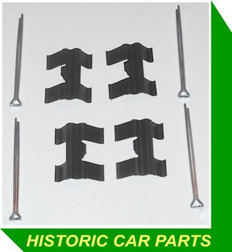 Disc Brake Pads RETAINING CLIPS /& SPLIT PINS for Singer Vogue IV 1725cc 1965-66
