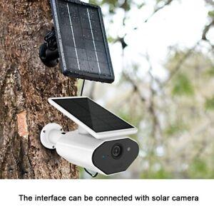 5W-5V-1A-Solarpanel-Sonnenkollektor-Fuer-Home-Security-Kamera-Neu