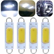 4sets Super White 44mm Cob Rigid Loop Festoon Led Light Bulb Lamp 561 562 211 2