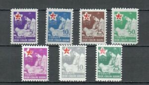 Turkey-EUROPE-COLLECTION-MH-RED-CRESCENT-CROSS-STAMPS-LOT-TUR-38-B