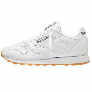 d78ca5999fb Image is loading Shoes-Reebok-Cl-Leather-White-Men
