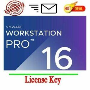 ️VMware ️ Workstation Pro 16 genuine Serial key ️ fast ...