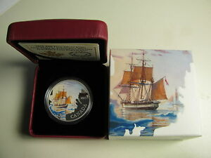 2015-Proof-20-Lost-Ships-3-Franklin-039-s-Expedition-Canada-9999-silver-twenty