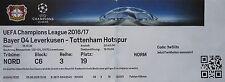 TICKET UEFA CL 2016/17 Bayer Leverkusen - Tottenham Hotspur