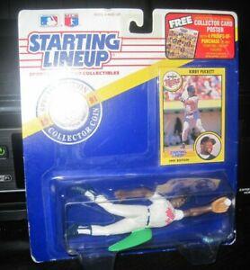Starting Lineup Kirby Puckett sports figure 1991 Kenner Minnesota Twins SLU MLB