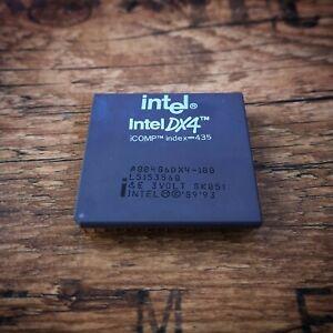Intel-486-DX4-100-MHz-Processor-80486DX4100-SK051-Socket-3-Vintage-CPU