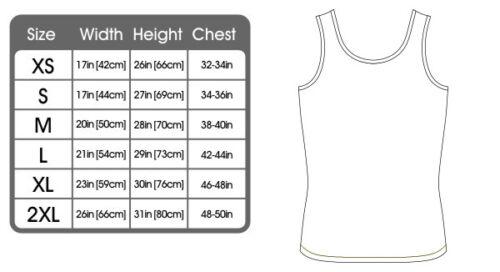 FB Gym Bodybuilding Vest Train Insane Novelty Birthday Bella Singlet Top