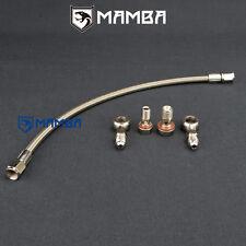 Turbo Oil Feed Line Mitsubishi Lancer GSR 4G93T 1.8T TD04L / Header to Turbo