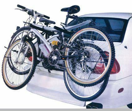 fits Skoda Fabia 1999-2017 3 Cycle Carrier Rear Tailgate Boot Bike Rack