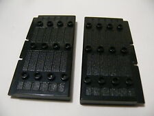 Lego 2 portes noires set 8874 7419 8823 6088 / 2 black doors stockade