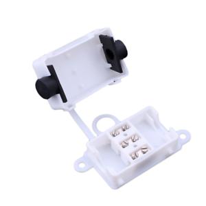 Boite de jonction 3Pin étanche IP44 Câble électrique Fil Connecteur 10 A 250 V