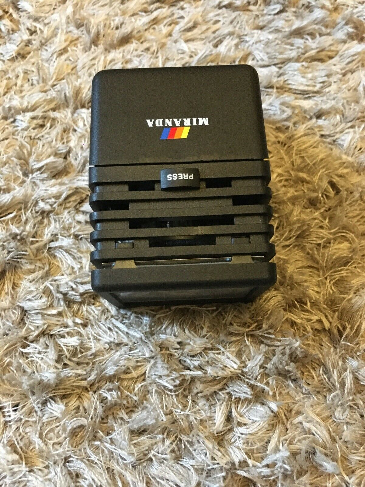 Miranda Vintage Compact Video Light 7.5v 20w Halogen Bulb Working