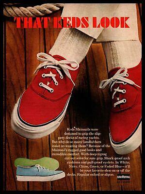 1966 Keds Mainsails Boat Deck Shoes
