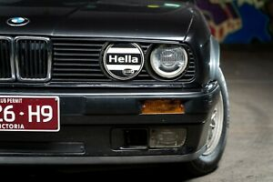 Replica Hella headlight covers for BMW E30, VW Golf and others