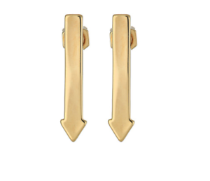 Marc By Marc Jacobs This Way Women's gold Earring 0135