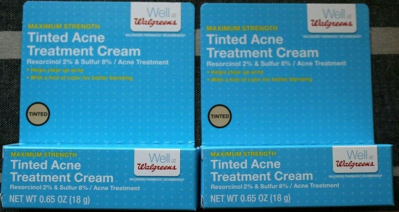 Cvs Acne Treatment Cream 8 Sulfur 2 Resorcinol Tinted Generic X4
