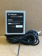 Deltec AC adapter (21-3815) for CADD pumps