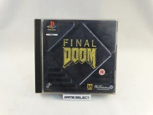 FINAL-DOOM-FPS-SONY-PLAYSTATION-1-2-3-ONE-PS1-PS2-PS3-PSX-PAL-ORIGINALE-COMPLETO