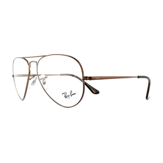 755757a294 Eyeglasses Ray Ban Rx6489 2531 Light Brown 55-14 for sale online