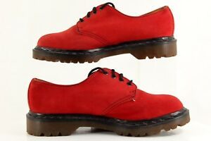 Dr-Martens-Red-Men-039-s-Shoes-Size-7-AW1-GR7004